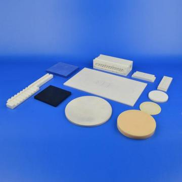 aluminum oxide ceramic substrate wafer disc custom made
