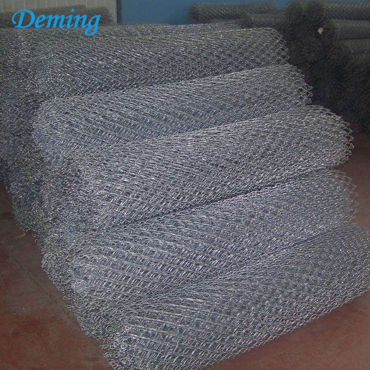 Factory Supply Wholesale Galvanized Chain Link Fence