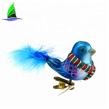 Decorative Ornaments Figurines Glass Bird With Wings