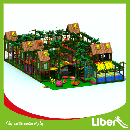 Church indoor amusement playground