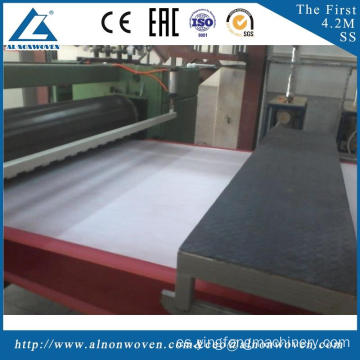 The most professional AL-1600 S 1600mm nonwoven fabric making machine with high quality