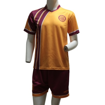 Orange sublimated soccer uniforms