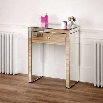 Venetian Mirrored Compact Dressing Table