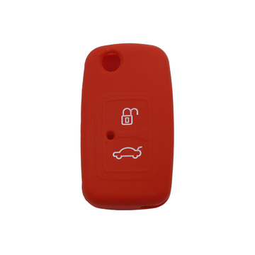 Silicone car key case for Chery