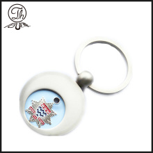 Personalised shopping trolley round shape tokens coin