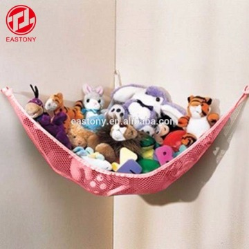 EASTONY Jumbo Toy Hammock Storage Net Organizer for Soft Stuffed Animals Nursery Play Teddies
