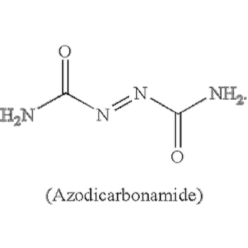 azodicarbonamide  decomposition reaction