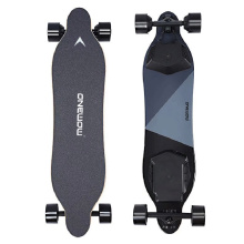 High flexbile carved deck electric skateboard