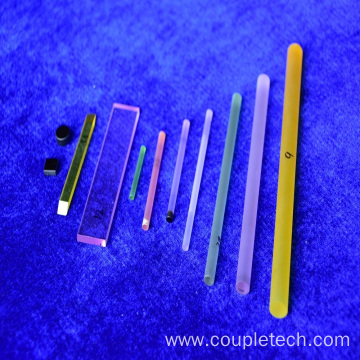 Diffusion bonded Composite DBC Laser Crystal