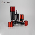 50ml  red pump cosmetics cream lotion bottle