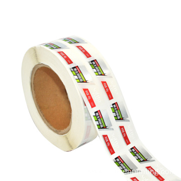 High Quality Custom Printed Adhesive Rolled Bottle Labels