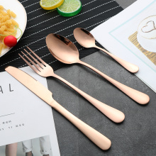 Wholesale stainless silverware flatware set knife fork spoon