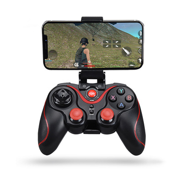Wireless Android Gamepad Z6 X3 Wireless Joystick Game Controller bluetooth BT3.0 Joystick For Mobile Phone Tablet TV Box Holder