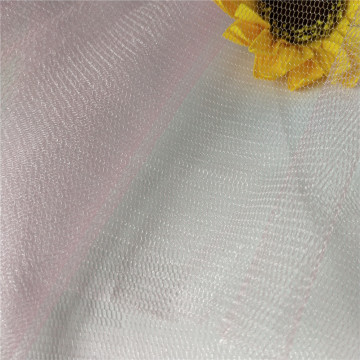 Pink Glimmer Mesh Tulle Fabric for Dress