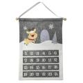 Christmas Advent Calendar with winter woodland style