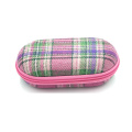 New style carrying cloth eyeglasses case with logo