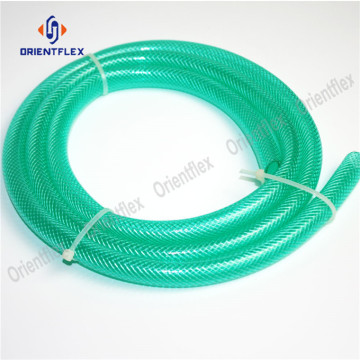 Flexible Clear PVC Fiber Braided Reinforced Plastic Hose