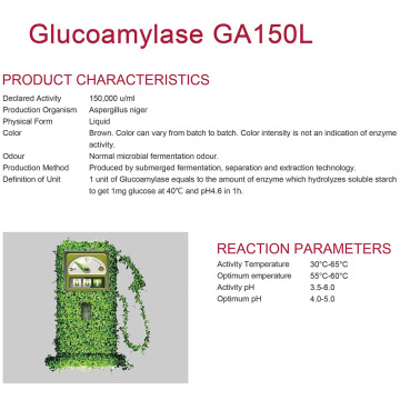 Concentrated Glucoamylase for alcohol