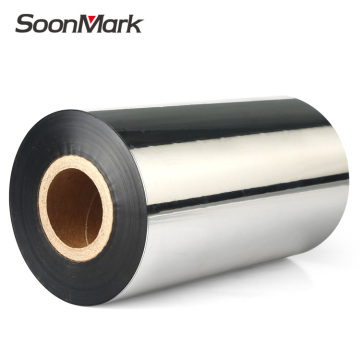 110x300m Thermal Wax resin ribbon for Coated paper