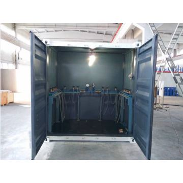 Removable Containerized Oxygen Cylinder Refilling Station