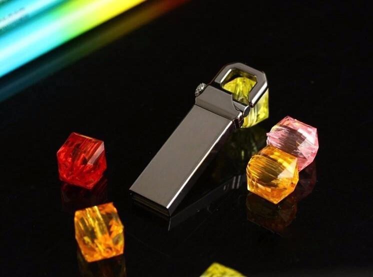 2020 Sale Cle Usb Metal Usb Flash Drive 8GB 16GB 32GB 64GB 128GB U Disk Pendrive Stainless Steel 2.0 Key Memoria for Gift