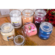 Scented Customized Color Glass Jar Candle