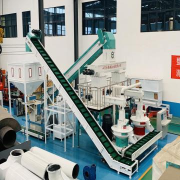 CE ISO SGS Certificates Biomass Pellet Production Line