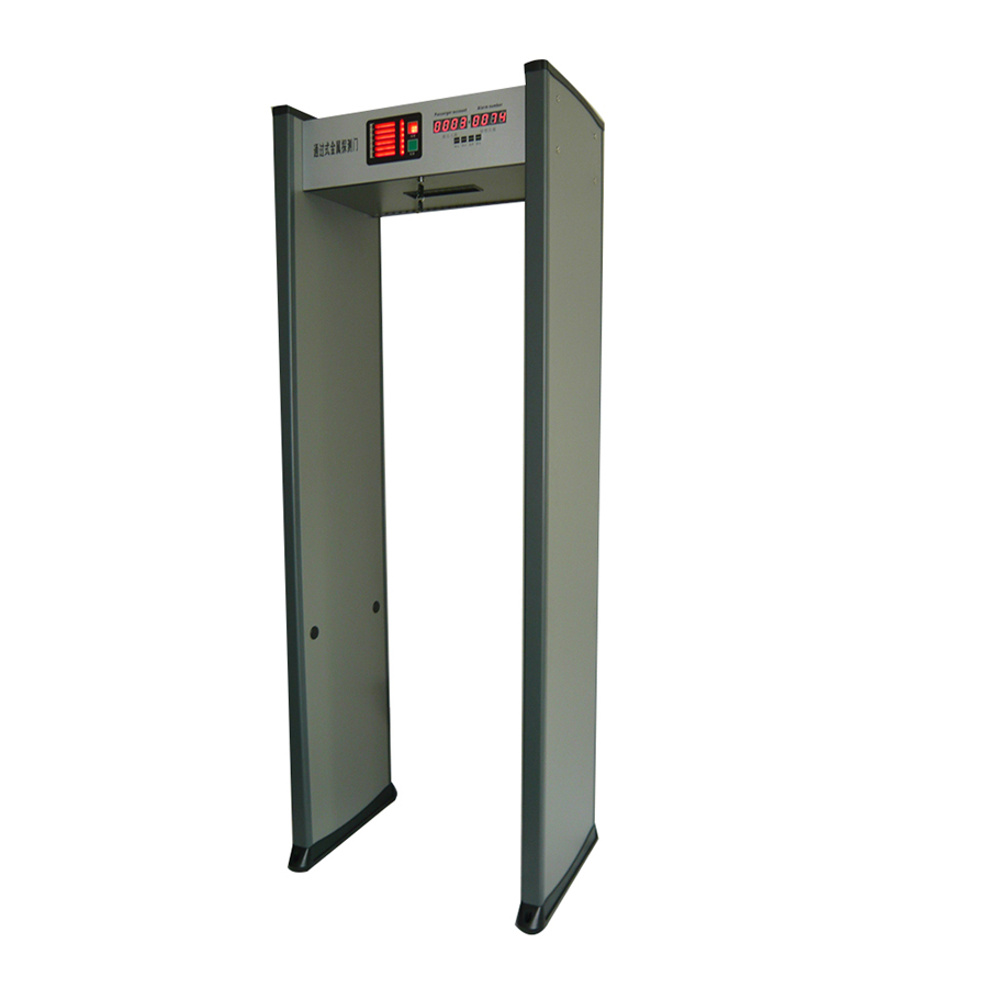 anti terrorist walk through metal detector door