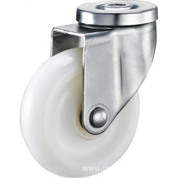 4nch Hollow Pivel Swivel PA Casters