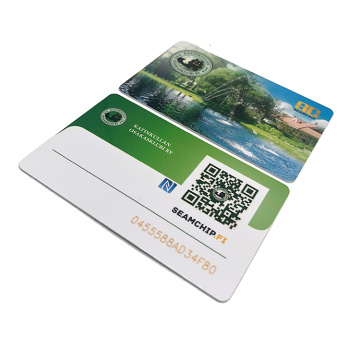 Membership Card With Barcode And Qr Code