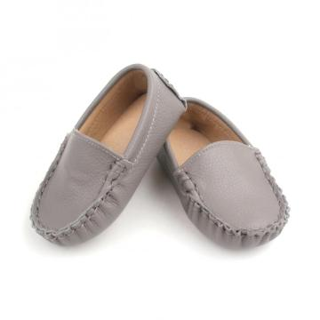 Trendy Infant Leather Shoes Noslip Baby Unisex Shoes