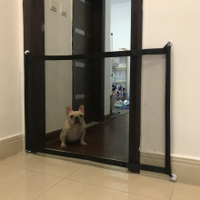 Magic Pet Dog Gate Pet Fence Barrier Folding Safe Guard Indoor Outdoor Puppy Dog Separation Protect Enclosure Pet Supplies