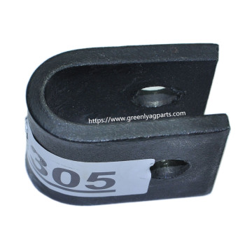 E48305 U-Bar clevis clamp for John Deere flail mower knife