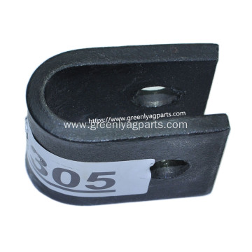 E48305 U-Bar clevis clamp for flail mower knife