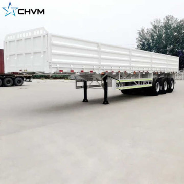 3Axles 80tons Grid Position Semi Trailer