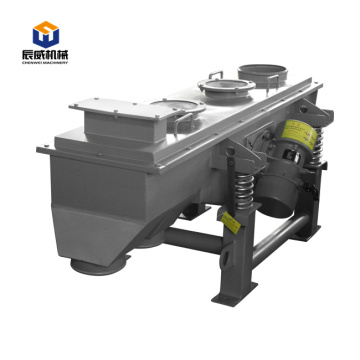 linear dewatering vibrating screen machine