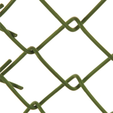 pvc coated Chink link cyclone mesh fence cost