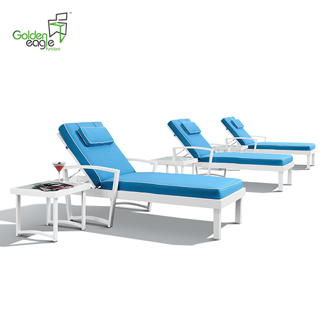 L0112 single beach chair outdoor