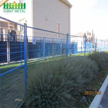 Pvc coated outdoor fence portable Canada temporary fence