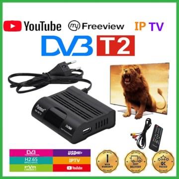 Pantesat HD99 FTA HEVC 265 DVB T2 Digital TV Tuner H.265 TV Receptor Full HD DVBT2 Set-top Box Wifi Receiver DVB-T Youtube