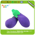 Colorful Vegetable Shaped Rubber Eraser