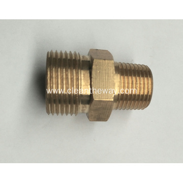 "Pressure Washer Twist Connect M22 X 1/4"" MNPT 4000PSI High Pressure Brass Fitting"