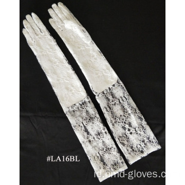 Sarung tangan Fashion Lace Glove panjang