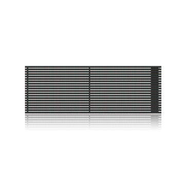 Easy heat dissipation less outdoor LED grille screen