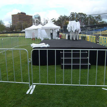 hot sale white crowd control barricades for US