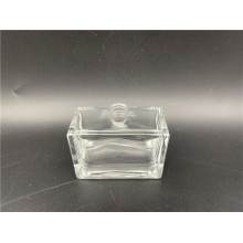 50ml clear square glass perfume bottle spray