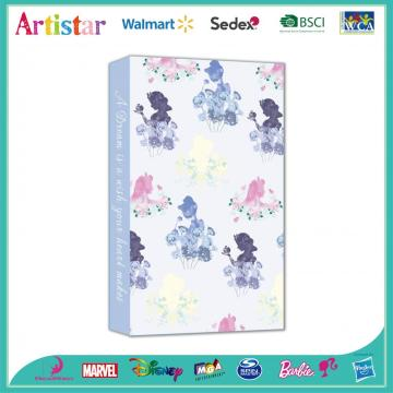 DISNEY PRINCESS blue notebook