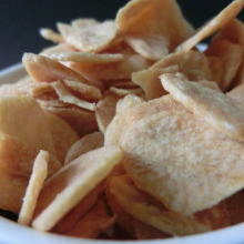 Deep fried garlic chip&granule