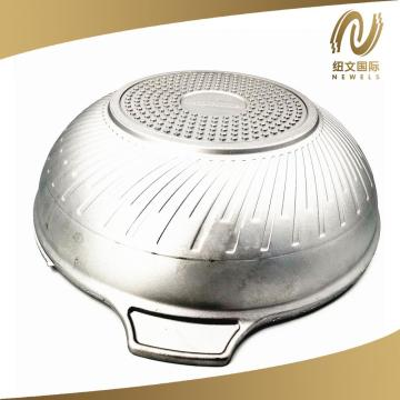 One-Time Pressing Aluminum Wok