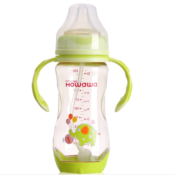 Heat Sensing Baby Nursing Milk Bottle 10oz